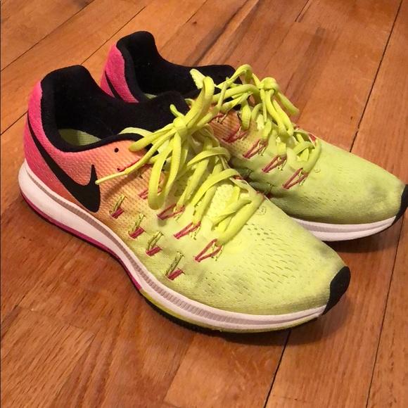 Nike Shoes | Nike Pegasus 33 Neon
